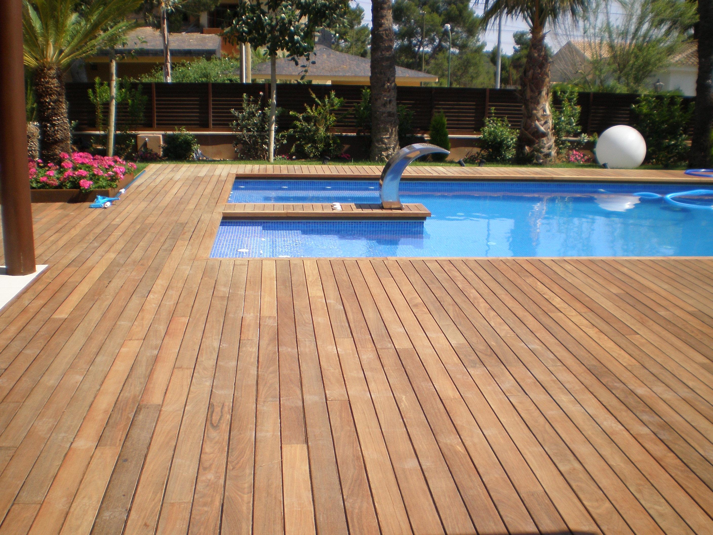 Madera para exterior muebles refritos for Tarima de madera exterior